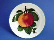 Lovely Wemyss Ware 'Apples' Tea Plate c1910